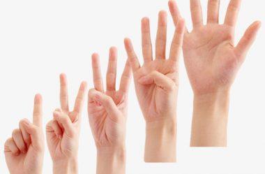 Como contar sem os dedos?